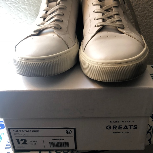 Greats Shoes | Mens Royale High Size 12